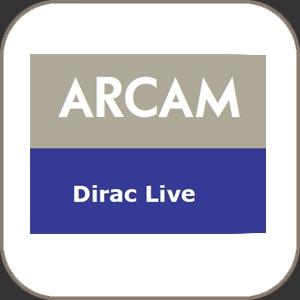 Arcam Dirac Live room correction Software