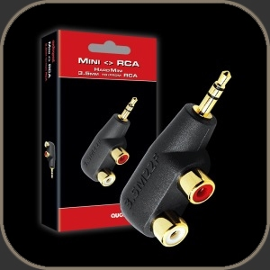 Audioquest Adaptor Hard Mini/RCA Adaptor