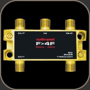 Audioquest 75Ω Splitter F to 4F