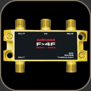 Audioquest 75Ω Splitter F to 4F