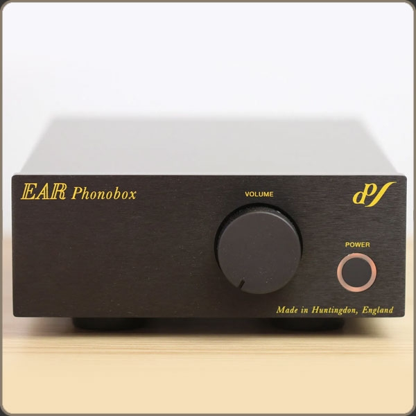 Ear PhonoBox MM/MC  Black