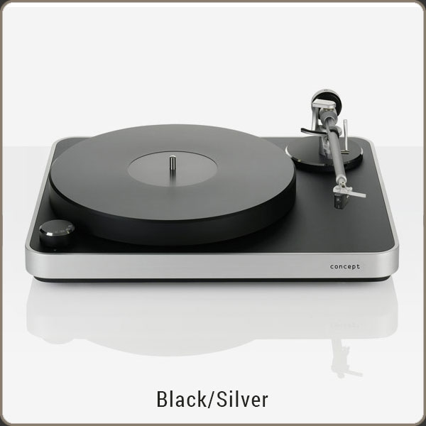 Clearaudio Concept - MM - Black/Silver