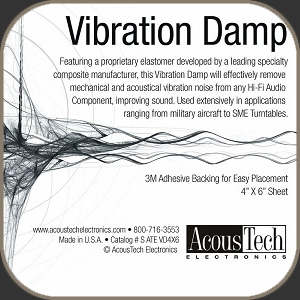 AcousTech Vibration Dampening Material
