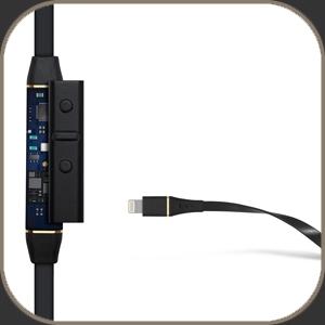 Audeze Sine - Black Lighting Cable - Leather