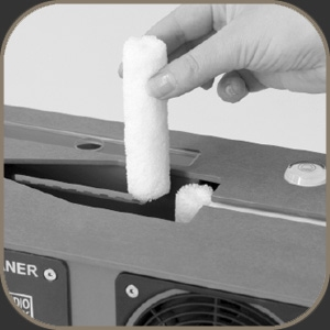 Audio Desk Systeme Microfibre Cleaning Barrels