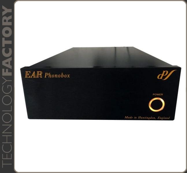 Ear PhonoBox MM/MC  Black