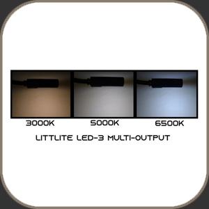 """Littlite LED Lamp Tri Output White 18"""""""