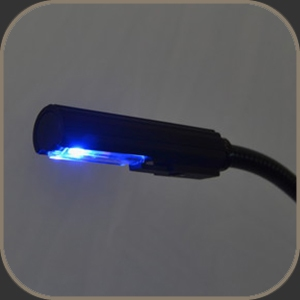 Littlite LED Lamp White-Blue 18""