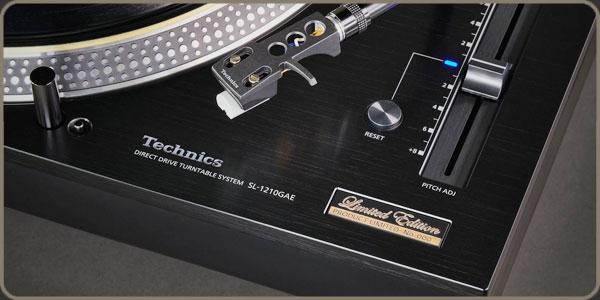Technics SL-1210GAE - Black