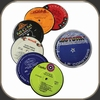 Vinylux LP Coasters