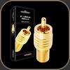 Audioquest Adaptor F to RCA