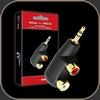 Audioquest Adaptor Hard Mini/RCA Adaptor