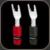 Audioquest SureGrip 300 Multi-Spade Silver