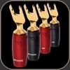 Audioquest SureGrip 500 Multi-Spade Gold