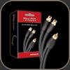 Audioquest FLX-X RCA Splitters (Male to 2 Female)