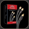 Audioquest FLX-X RCA Splitters (Male to 2 Female)