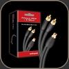 Audioquest FLX-X RCA Splitters (Female to 2 Male)
