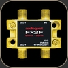 Audioquest 75Ω Splitter F to 3F