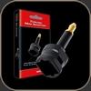Audioquest Optical Toslink Mini Adaptor