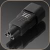 GigaWatt IEC320-C5 Plug Adapter