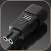 GigaWatt IEC320-C7 Plug Adapter