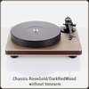 Clearaudio Performance DC - RoseGold/DarkRedWood