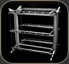 Stillpoints Equipment Suspension System Rack