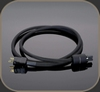 Transparent High Performance Power Cord