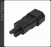 Kemp IEC 320/C14 -> C5 Adapter
