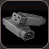 Kemp IEC 320/C14->C19 adapter
