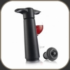 Vacuvin Vacuum Wine Saver Black gift pack