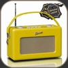 Roberts Radio Revival - Real Leather Ferrari Yellow