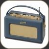 Roberts Radio Revival - Real Leather Jaguar Blue