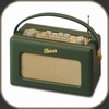 Roberts Radio Revival - Real Leather Racing Green